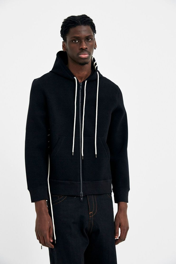 Craig Green - Black Bonded Zip-Up Hoodie