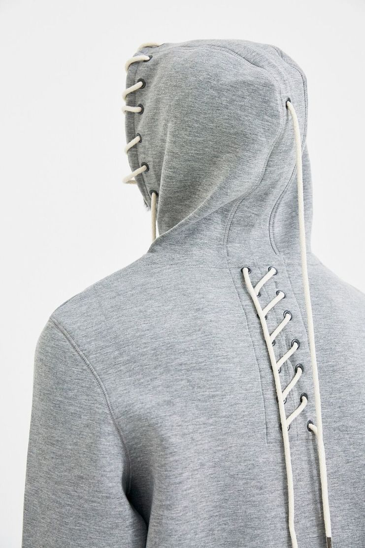 Craig Green Grey Bonded Zip-Up Hoodie Pullover Sweatshirt Gym Kit A/W 17 F/W 17 FW17 AW17 Christmas Xmas X-mas Black Friday Craigreen Craiggreen