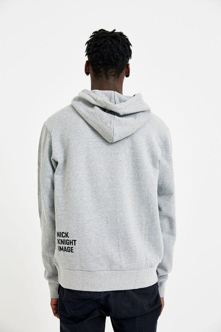 DAELIM Grey SKINHEAD SHOWstudio Merchandise Hoodie Pullover Jumper Sweater Sweatshirt Grey White Nick Knight Nicholas Book Magazine A/W 17 F/W 17 Christmas Sale Deals Black Friday Cyber Monday