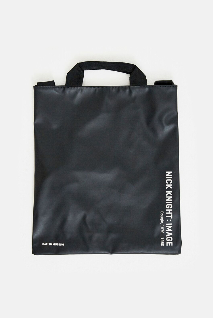 DAELIM SKINHEAD Tote Bag SHOWstudio Black White Nick Knight Nicholas Book Magazine A/W 17 F/W 17 Christmas Sale Deals Black Friday Cyber Monday