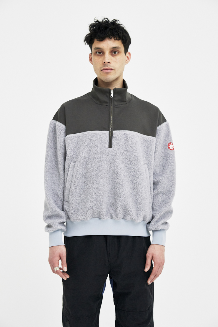 Cav Empt Fleece Zip jacket winter autumn christmas A/W 17 F/W 17 FW17 AW17 japanese streetwear stretch csv cavempt cave empt