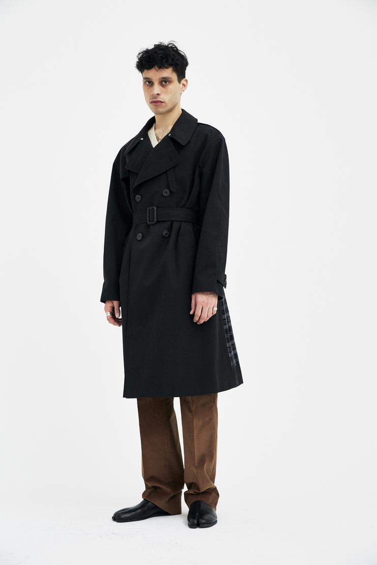 Margiela Maison Margiela trench coat black classic S/S 18 A/W 17 F/W 17 SS18 FW17 AW17 Coat Spring Summer Winter Autumn  maisonmargiela margiela