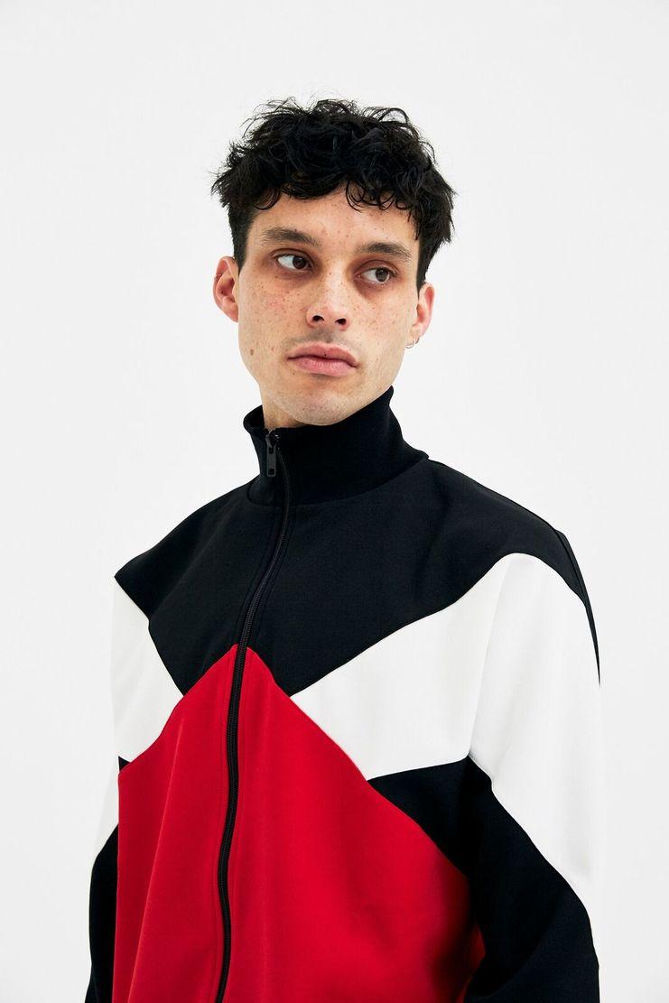 Maison Margiela Colour Block Fleece A/W 17 F/W 17 S/S 18 AW17 FW17 SS18 Maision Mansion Mason Masion Masoin Margela Margella Magiela jacket sweater zip track