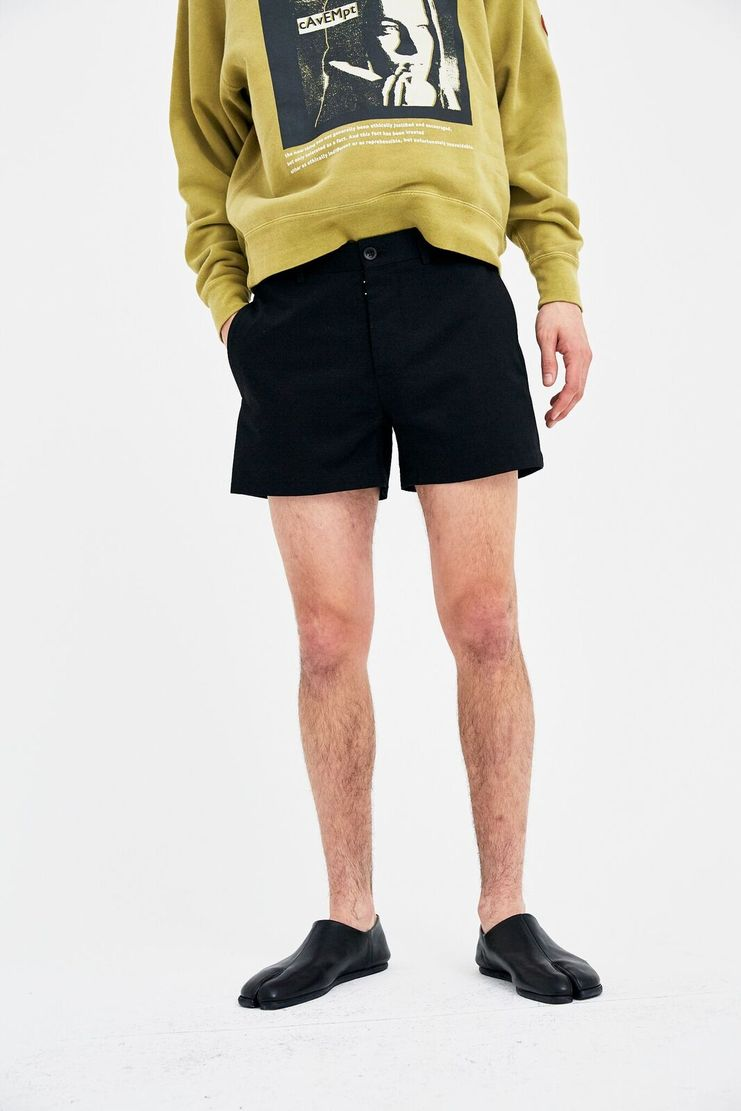 Maison Margiela Black Shorts Bottoms S/S 18 SS18 Spring Summer Fall Winter A/W 17 AW17 FW17 F/W 17 Autumn Mason Margela Margella