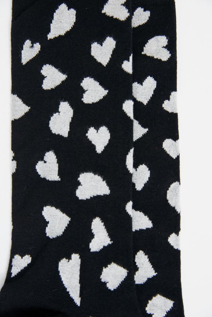 JW Anderson Black Heart Socks Grey Charcoal Underwear Love J.W. Andersan Andersson Andersen Anderssen Jonathan Jonathon Loewe SS18 S/S 18 Spring Summer A/W 17 F/W 17 FW17 AW17 Autumn Winter Accessory Accessories AC02MS18 Machine-A