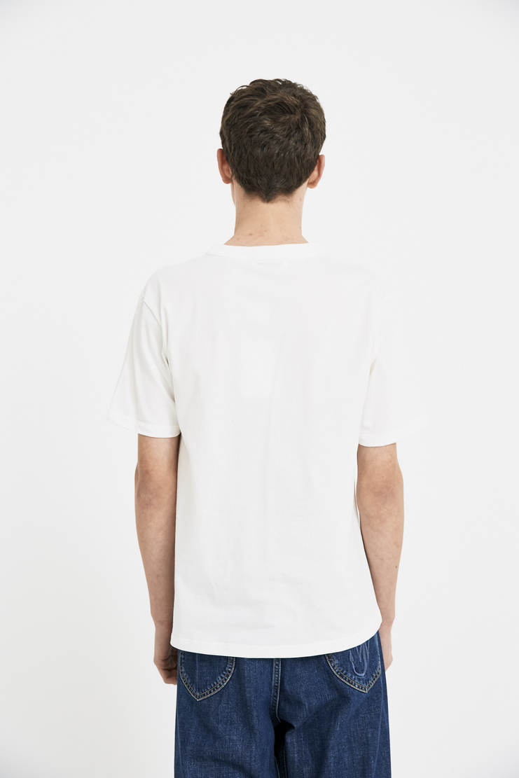 JW Anderson Off-White Baseball Card T-Shirt Tee Top Shirt Cream Sports JE25MS18 S/S 18 SS18 Spring Summer Autumn Winter A/W 17 F/W 17 AW17 FW17 J.W. Andersan Andersson Andersen Anderssen Jonathan Jonathon Loewe Machine-A