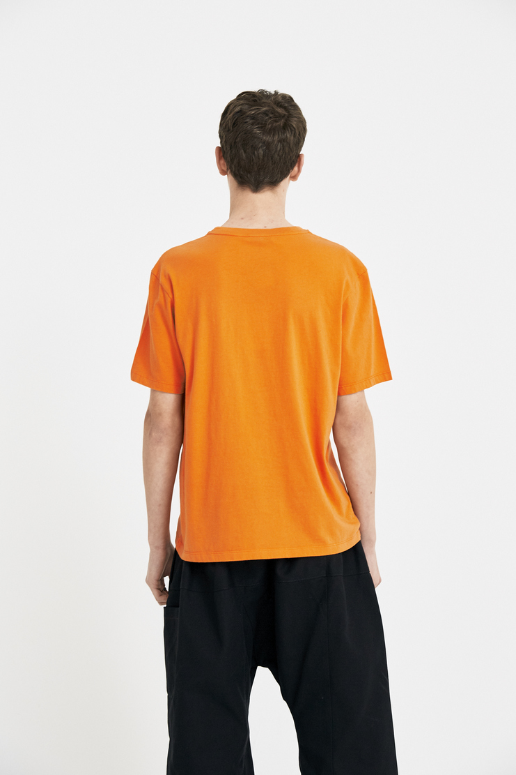 JW Anderson Orange Baseball Card T-Shirt Tee Top Shirt Cream Sports JE25MS18 S/S 18 SS18 Spring Summer Autumn Winter A/W 17 F/W 17 AW17 FW17 J.W. Andersan Andersson Andersen Anderssen Machine-A