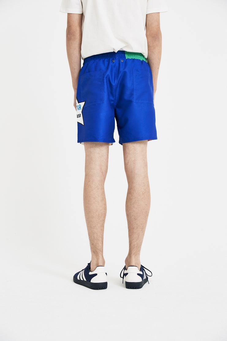 JW Anderson Baseball Card Swim Shorts SR10MS18 J.W Anderson Bottom JW Andersonn J W Anderson SS/18 Spring Summer Machine-A