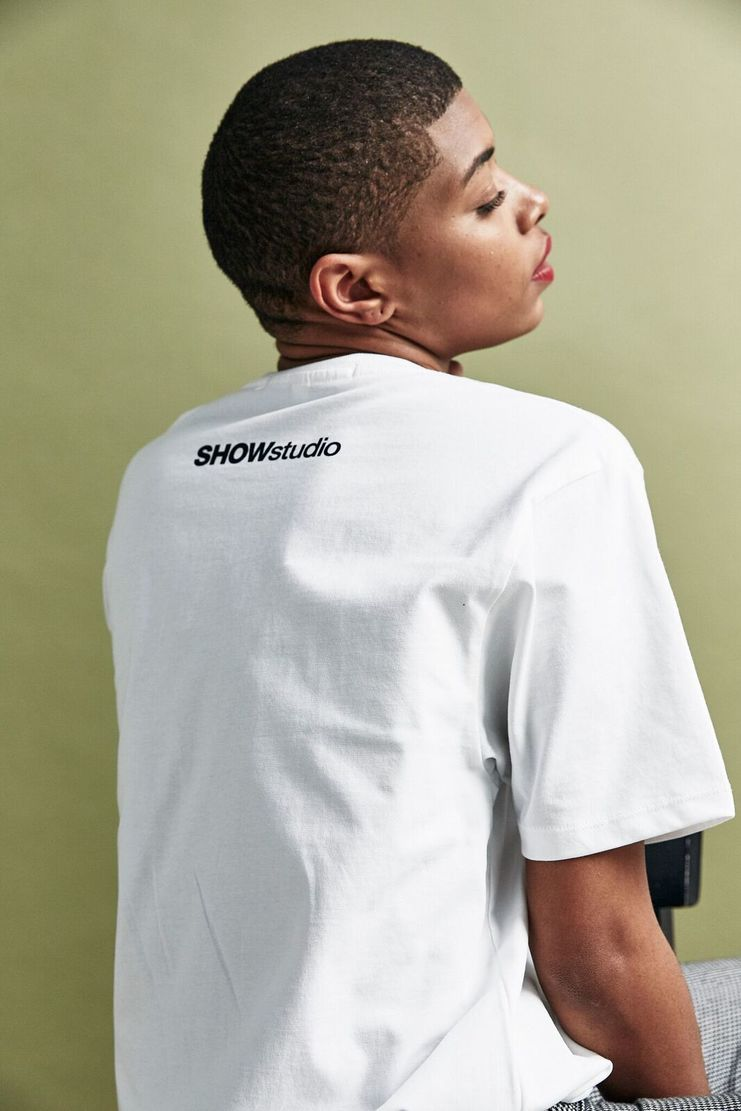 SHOWstudio White 'Ugly' T-shirt t shirt Top Tee Crew-neck short sleeve SS18 S/S 18 Nick Knight Nik Night studioSHOW Black Monochrome and Merch Merchandise