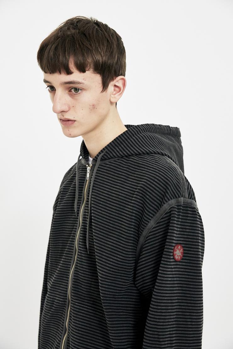 Cav Empt Black Grey Zip-Up jacket jumper hoodie ss18 S/S 18 Spring Summer 2018 csv cavempt cave empt Machine-A