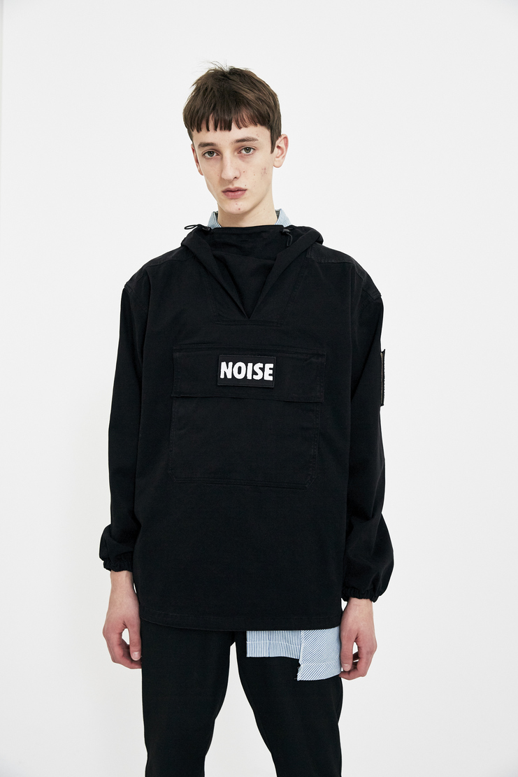 Liam Hodges Black Shell Jacket Pullover Vareuse SS18 S/S 18 Spring Summer Grey LH-SS18-102