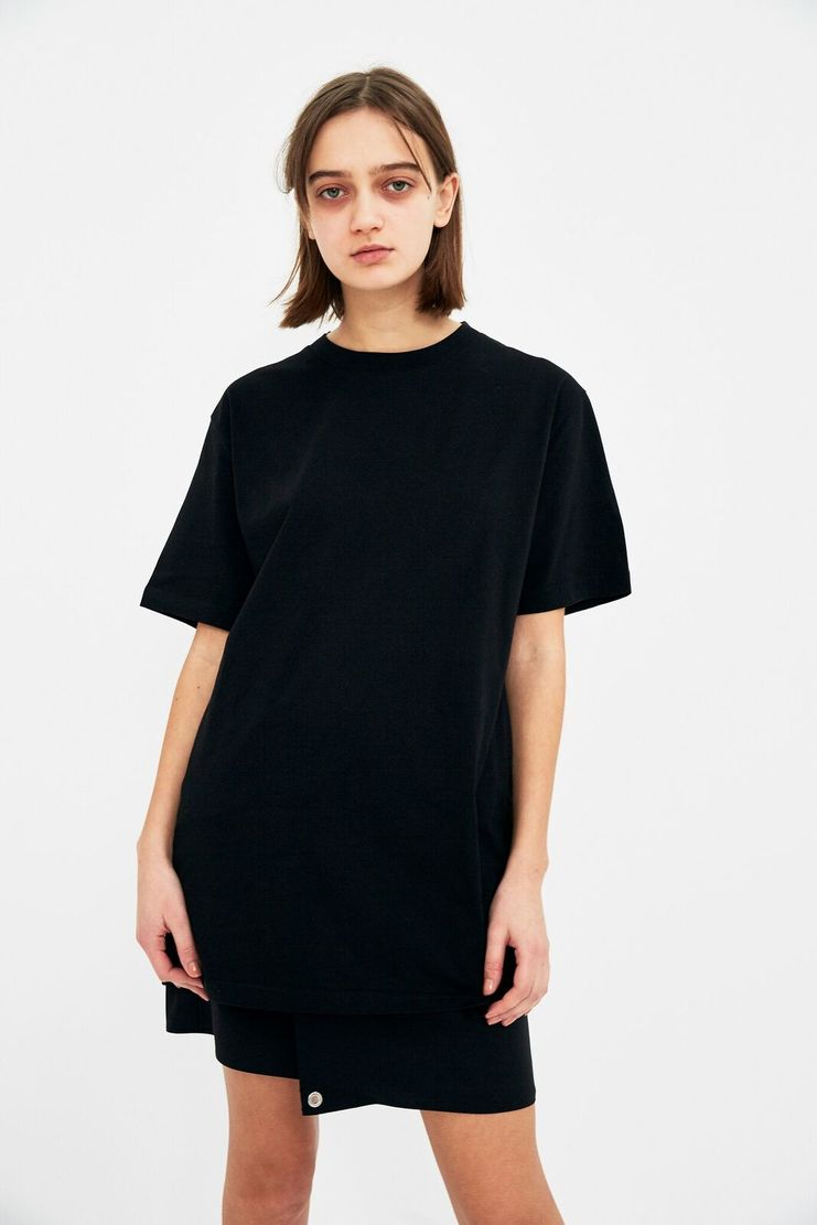 ALYX Naomi Avenue T-Shirt Black Cotton Jersey Short Sleeve Crew Neck Naom Ave Alix Aleeks Aleks Alyyx Alkes Spring Summer S/S 18 SS18 AAUTS0006