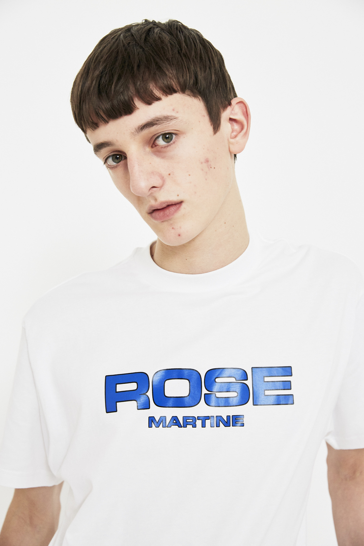 Martine Rose white t shirt t-shirt tee top S/S 18 SS18 Spring Summer 2018 Machine-A