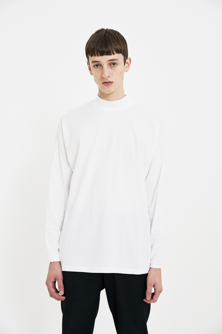 Martine Rose white shirt long sleeve top S/S 18 SS18 Spring Summer 2018 Machine-A