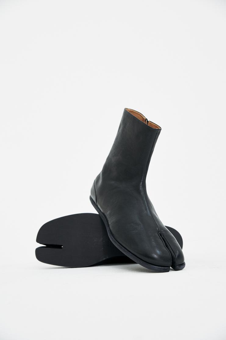 Maison Margiela black tabi ankle boots shoes Spring Summer 18 SS18 S/S/ 18 MMM Margela Margella Mason Masion Machine-A