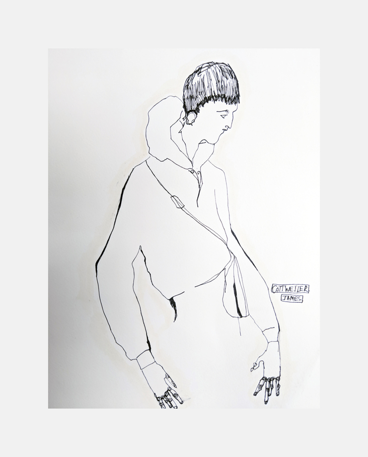 COTTWEILER, A/W 18, ,James Spencer, SHOWstudio, Fashion Illustration, Fashion Week