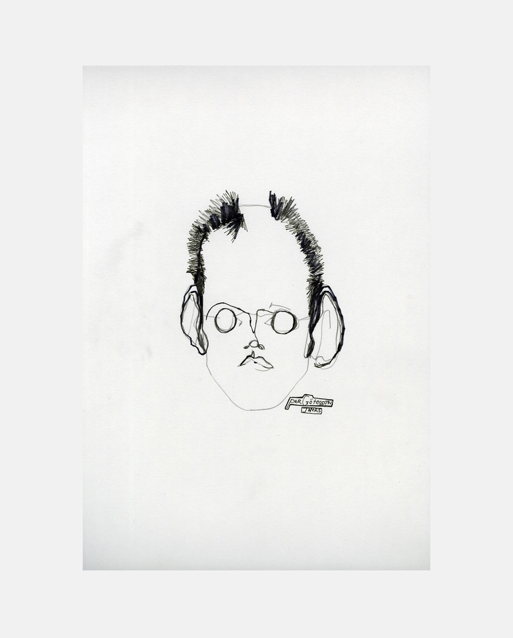 Per Götesson, A/W 18, James Spencer, SHOWstudio, Fashion Illustration, Fashion Week