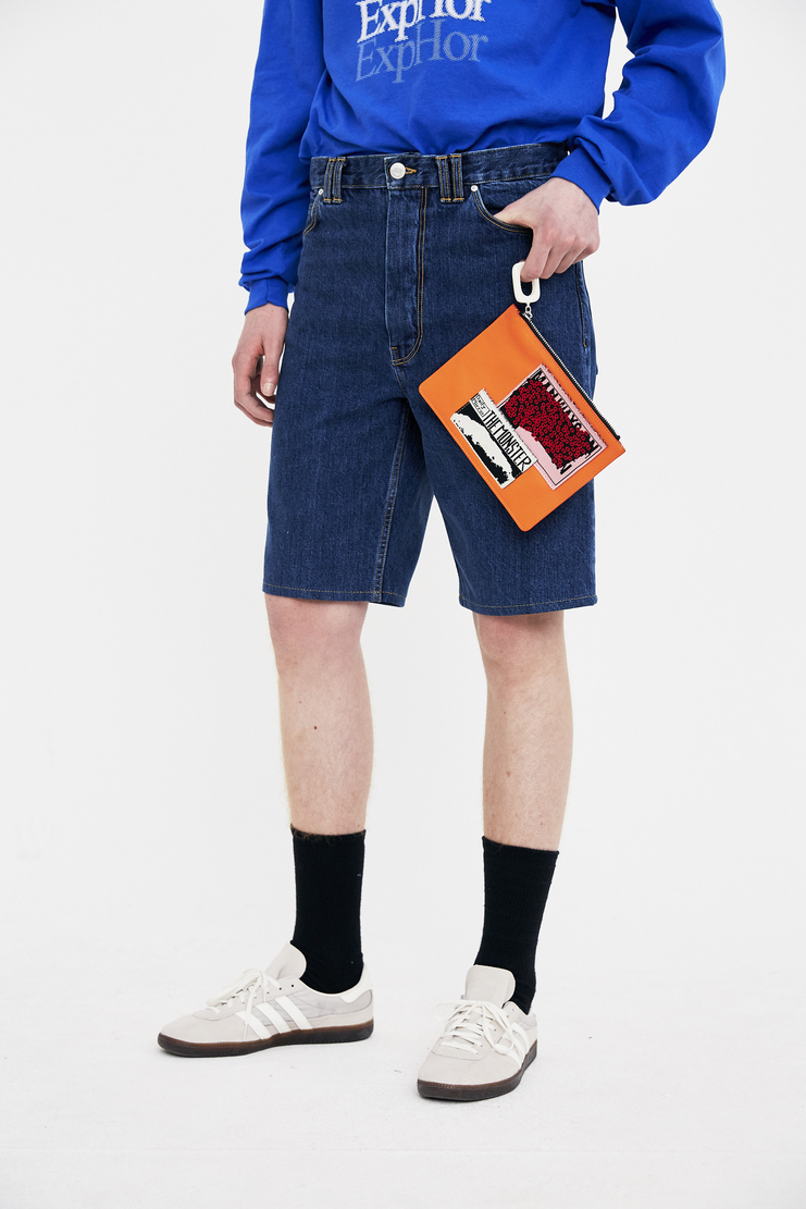 JW Anderson pouch with patches accessory bag S/S 18 ss18 spring summer 2018 Machine-A