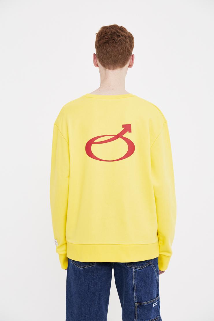 Xander Zhou long sleeve pullover jumper top ss 18 ss18 xandar zou Machine-A