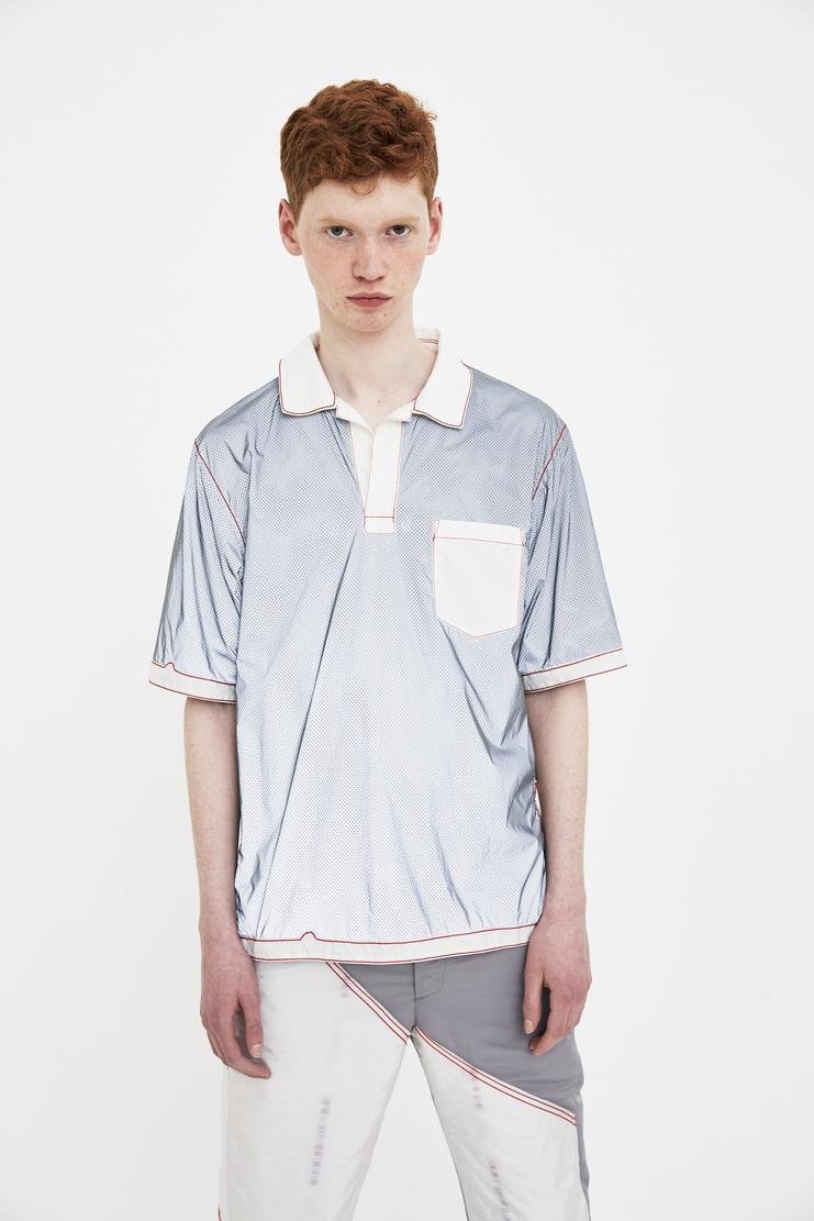 KANGHYUK Grey Half Sleeve T-shirt top shirt tee Spring Summer 2018 SS 18 S/S18 Machine-A