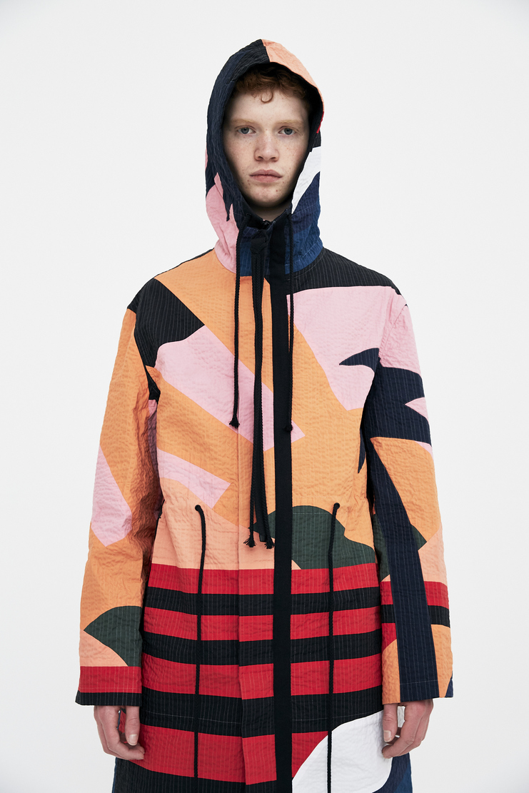 Craig Green Holiday Jacket ss18 s/s 18 spring summer 2018 coat hoodie hoody multicolour pattern craiggreen