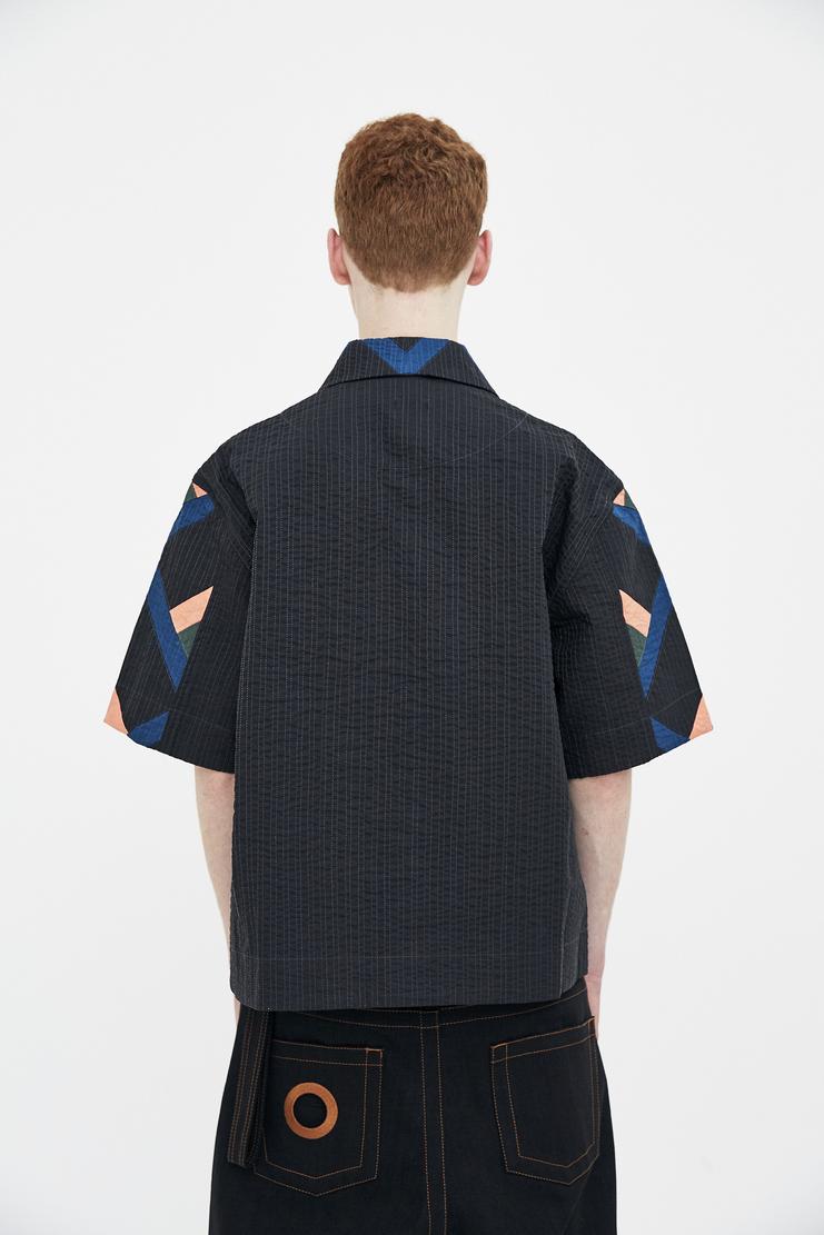 Craig Green Navy Short Sleeve Shirt Tee T-shirt Spring Summer 2018 S/S 18 SS18 Craiggreen Craigreen Crag Gren Greem