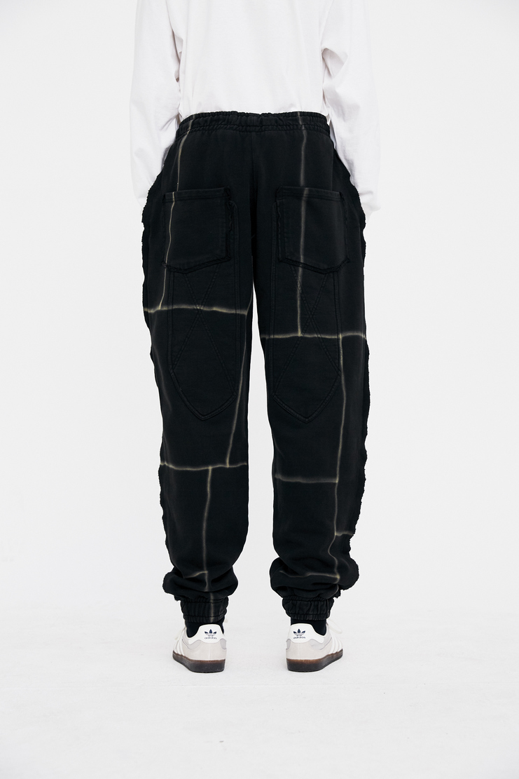 Liam Hodges black Infantry Joggers Trousers bottom Pants sweatpants SS18 S/S 18 Spring Summer Grey Machine-A
