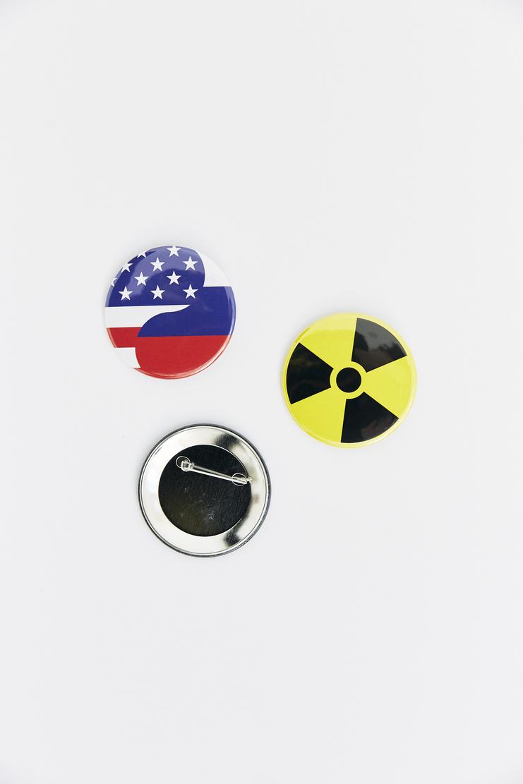 Gosha Rubchinskiy Badge Set pin pieces sixe ss18 dover street machine a rubcinskiy rubchinski russia