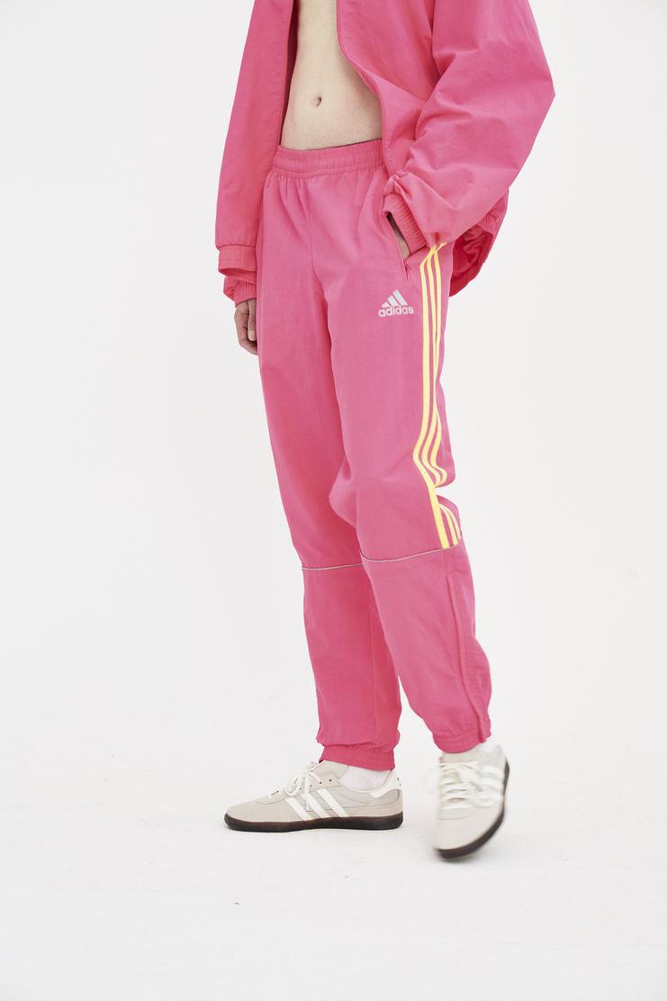 Gosha Rubchinskiy PINK track pants trousers bottom joggers SS18 SS18 S/S 18 coat jacket rubchinsky Machine-A