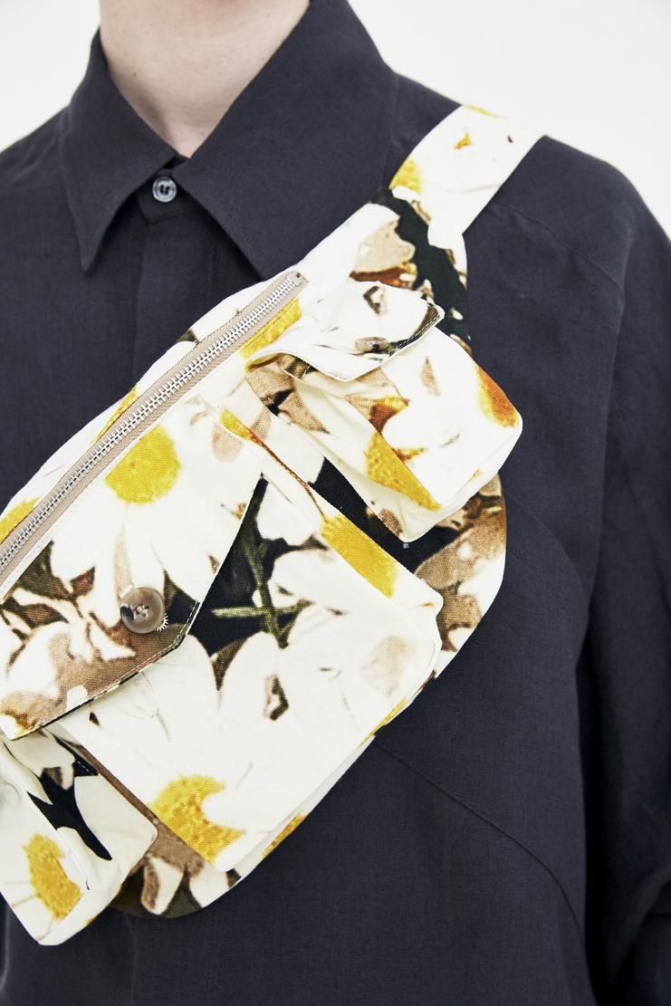 Alex Mullins Bum Bag daisy print flowers colour patters ss18 spring summer 2018 pouch purse