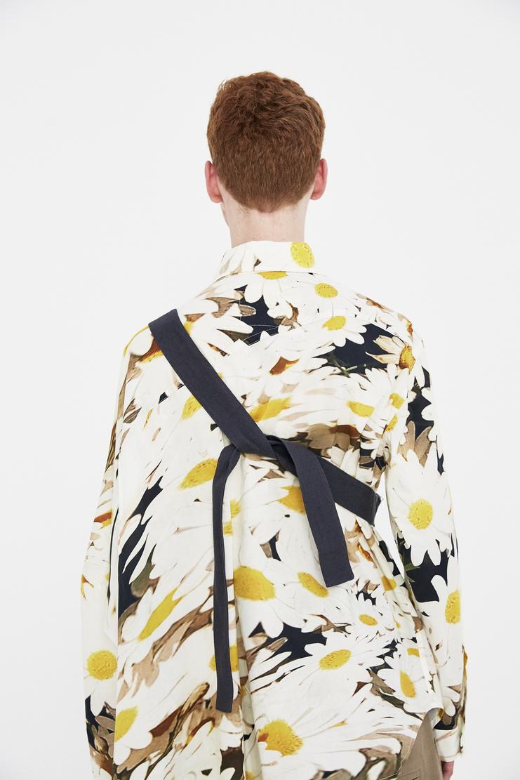 Alex Mullins Bum Bag charcoal grey linen ss18 spring summer 2018 pouch purse