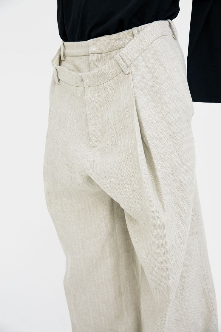 Y/Project Double Trousers ss18 black spring summer 2018 pants yproject y projectbeige