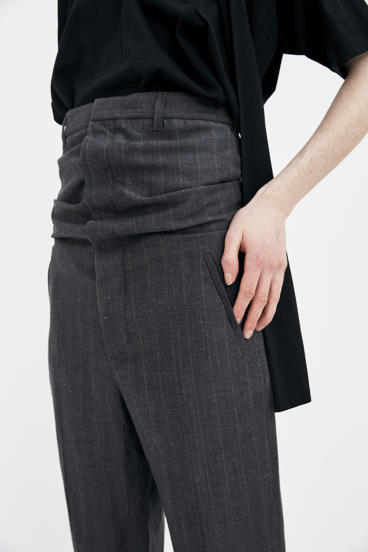 Y/Project High Waisted striped Trousers SS18 Spring Summer 2018 tailored yproject y project