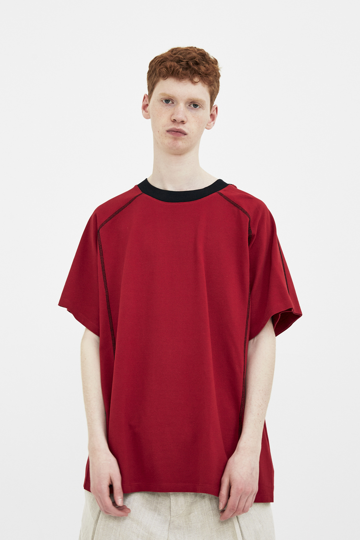 Y/Project Red T-Shirt ypeoject y project ss18 spring summer 2018 sport