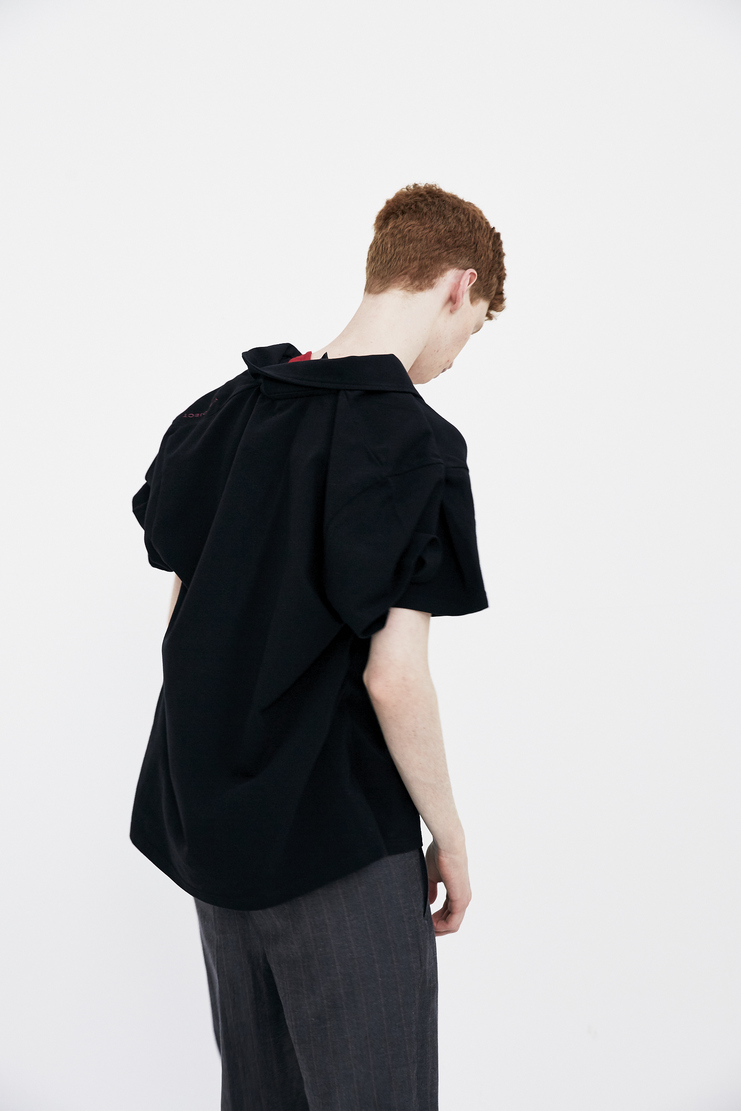 Y/Project Double Layer T-Shirt yproject y project ss18 spring summer 2018 black