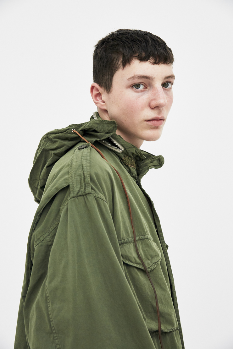 424 X ALPHA X SLAM JAM Military Green M-65 Field Jacket Coat outerwear Spring Summer 2018 SS18 S/S 18 Alpha Industries FOUR TWO FOUR Machine-A