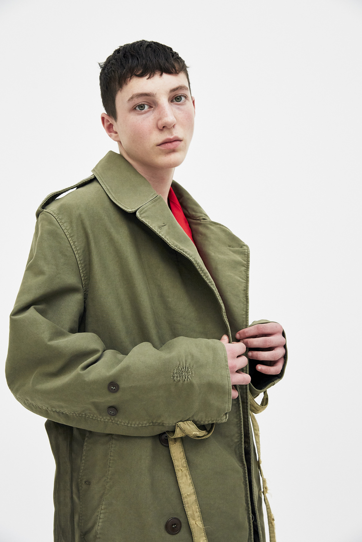 424 X ALPHA X SLAM Military Coat Trench Spring Summer 2018 SS18 S/S 18 FOUR TWO FOUR ALPHA Industries Machine-A