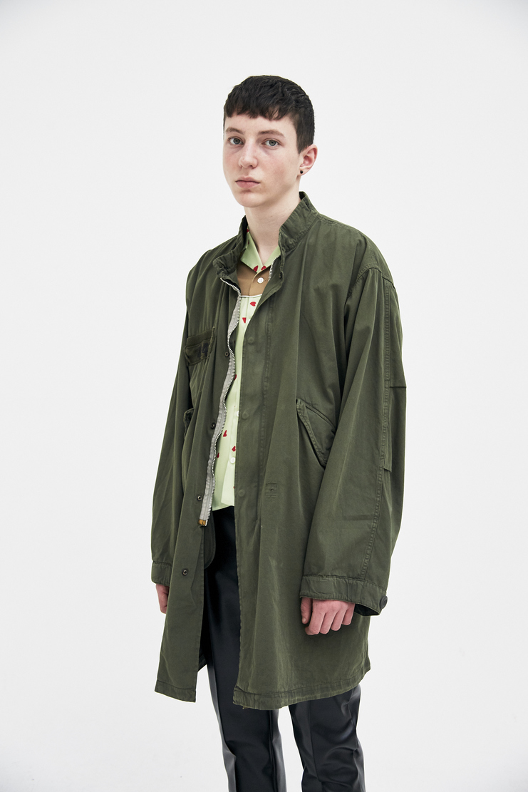 424 X ALPHA X SLAM JAM Military parka Coat Spring Summer 2018 SS18 S/S 18 FOUR TWO FOUR Machine-A ALPHA Industries