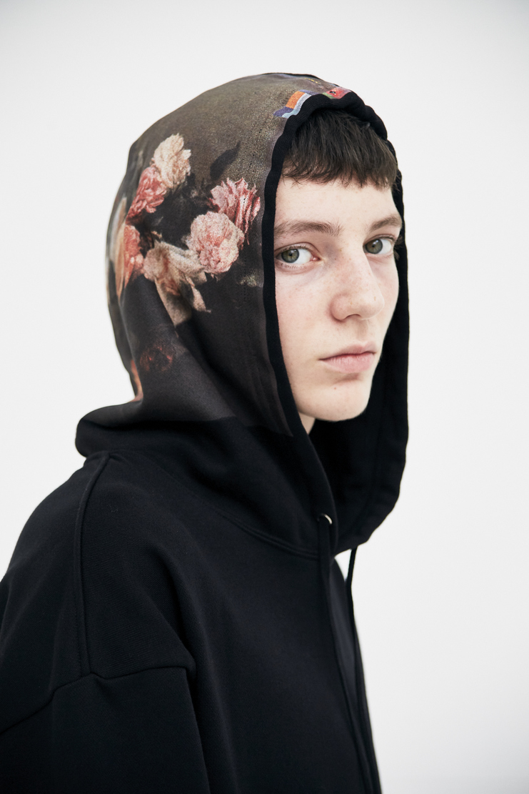 Ras Simons ss18 spring summer 2018 new order technique peter saville music artwork album English rock band fashion Raf Simons