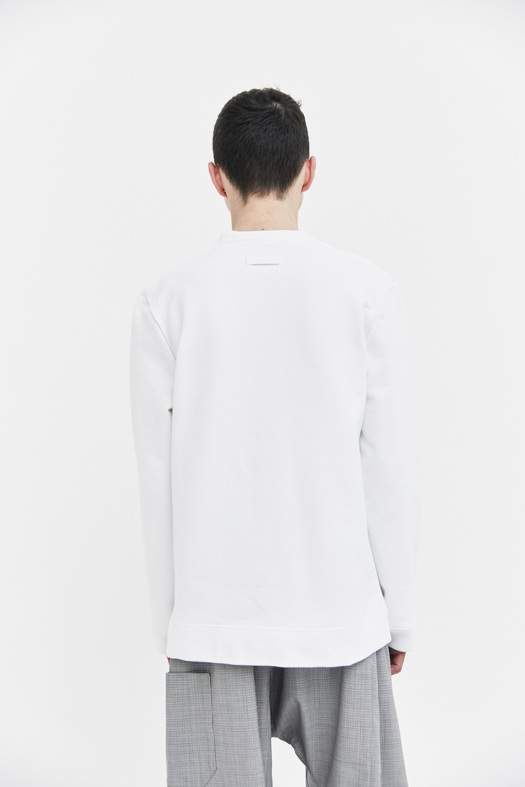 Raf Simons Round Neck Sweater ss18 spring summer print Peter Saville graphic Joy Division ‎'Atmosphere'