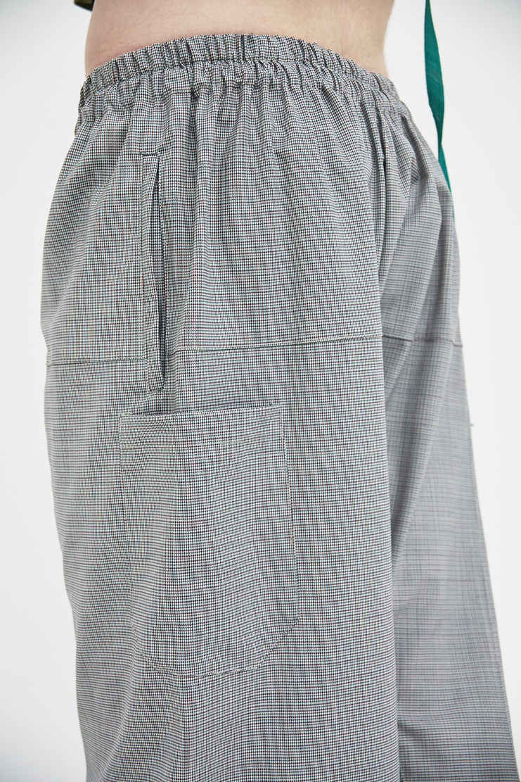 Raf Simons Grey short pants trousers bottom simon raf simon Machine-A