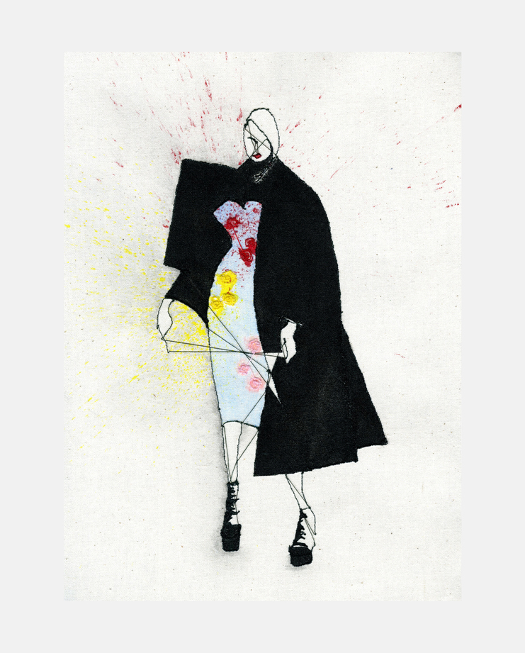 Richard Quinn A/W 17 by Jenifer Corker