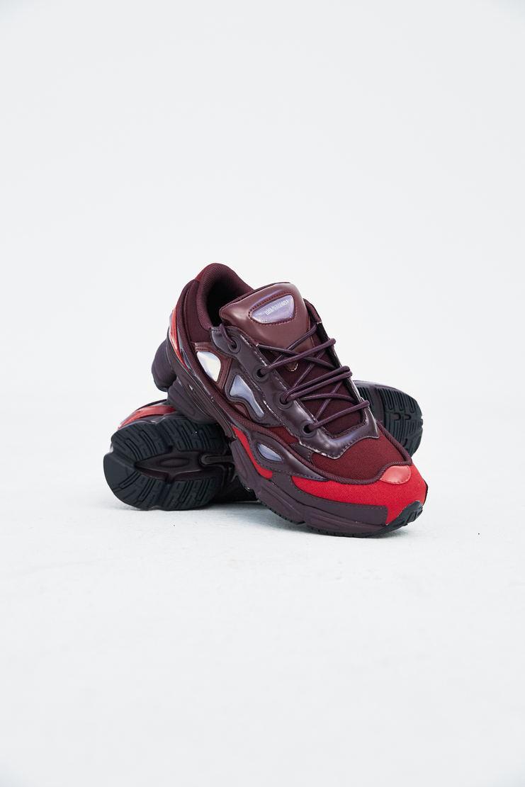 Adidas X Raf Simons Ozweego III trainers shoes sneakers burgundy s/s18 ss18 raf simons