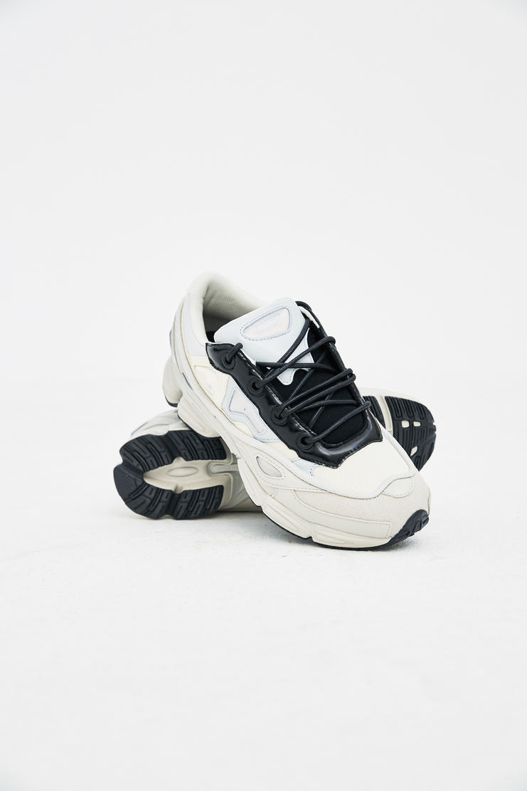 Adidas X Raf Simons cream Ozweego III trainers shoes sneakers s/s18 ss18 raf simons Machine-A