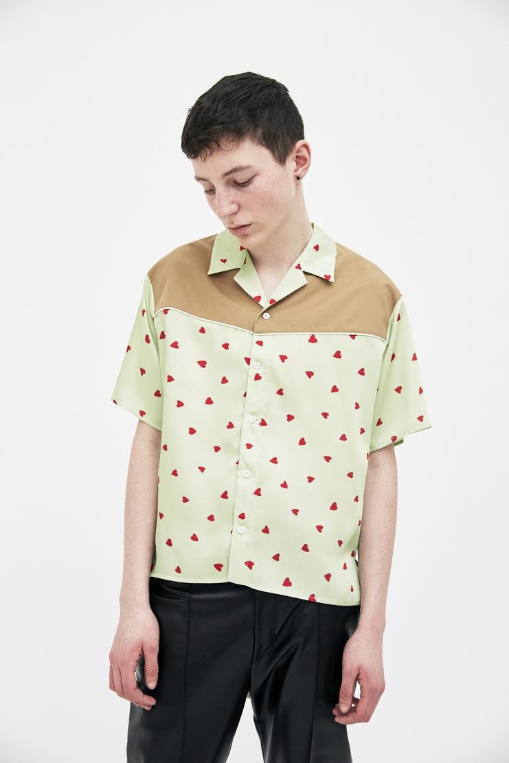 Magliano Baby Bowling Shirt maliano maljiano ss18 spring summer 2018 heart green shirt top t-shirt tee tshirt