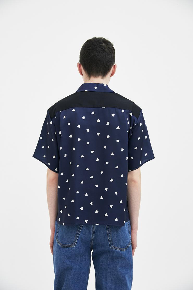Magliano Baby Bowling Shirt maliano maljiano ss18 spring summer 2018 heart green shirt top t-shirt tee tshirtblue black