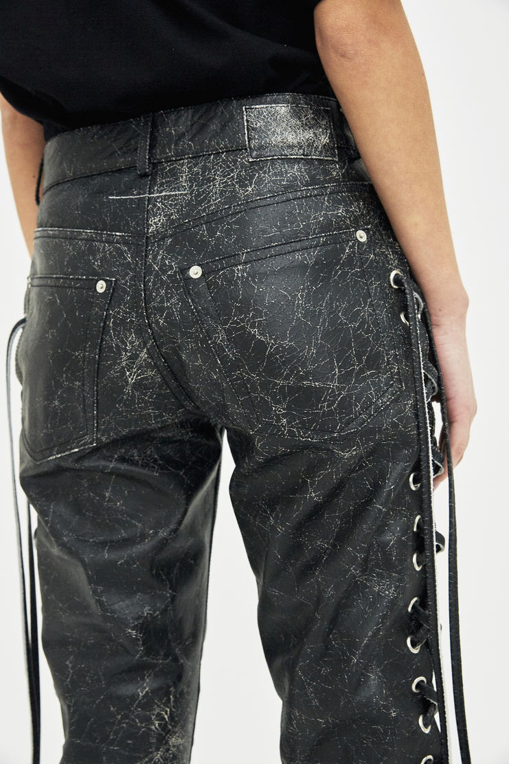 MM6 Black 5 Pocket Pants Trousers bottom S/S 18 SS18 Spring Summer 2018 Maison Margiela Mason Margela Margella Machine-A