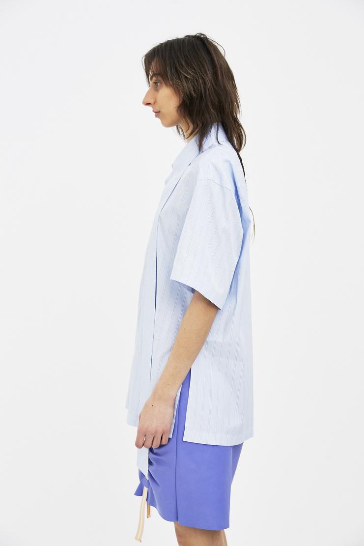 Ambush Woven Nerd stripe top SS SS18 s/s 18 Machine A SHOWstudio shirt womens