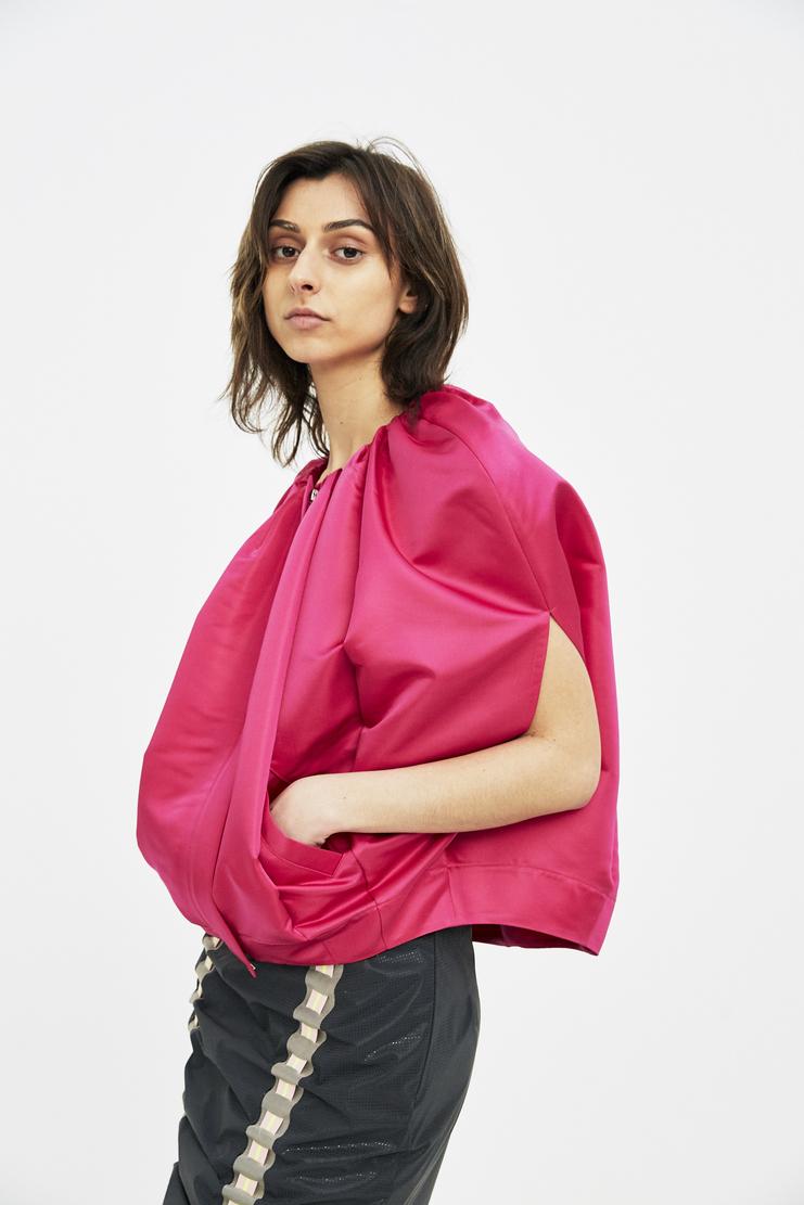 Lutz Huelle Pink Peony Jacket SS18 Machine A SHOWstudio womens jackets