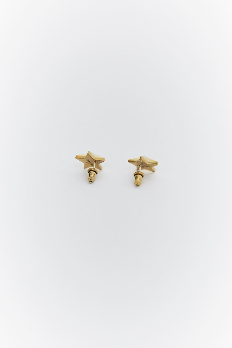 AMBUSH allstar all star Earrings SS18 Accessories Machine A SHOWstudio earrings accessory gold star stars
